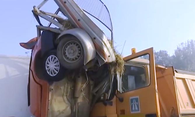 U jutrošnjoj saobraćajoj nesreći na auto putu teško povređena osoba iz Kruševca