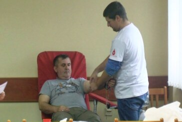 Akcija dobrovoljnog davanja krvi u zgradi Policijske uprave Kruševac