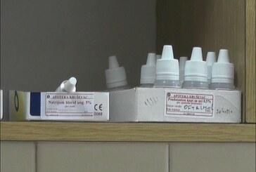 """Kapi """"pilokarpi"""" (miokaprin) proizvodi od nedavno kruševačka laboratorija apoteke """"Zdravlje"""""""