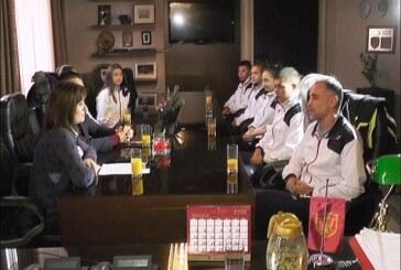 "Prijem za najuspešnije članove Badminton kluba ""Zmajevi"""