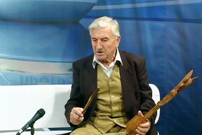 Ljubomir Šćepanović, guslar iz Bele Vode, u Jutarnjem programu TV Kruševac