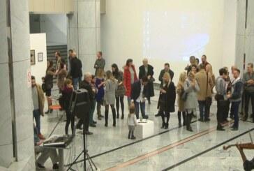 U holu Narodne banke Srbije u Beogradu otvorena izložba Jelene Borovčanin