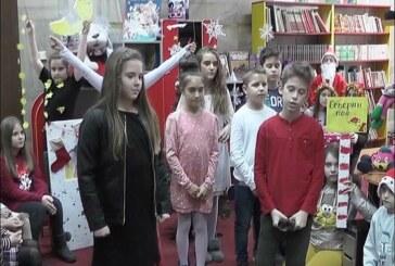 """""""Novogodišnja bajka"""" za najmlađe članove biblioteke"""