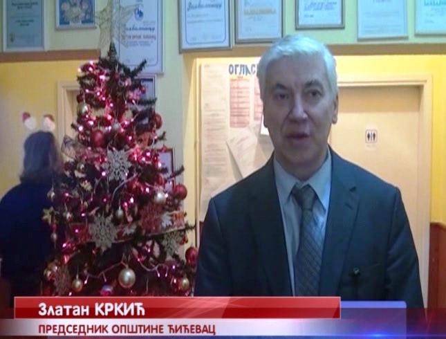Predsednik opštine Ćićevac Zlatan Krkić najavio investicioni bum u 2019.