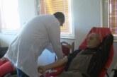 Humanitarna akcija dobrovoljnog davanja krvi u Krvavici