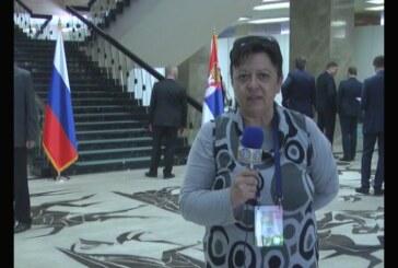 Ekipa Televizije Kruševac na licu mesta: Poseta ruskog predsednika Vladimira Putina Srbiji