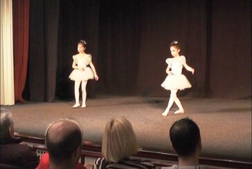 Božićni javni čas baletske radionice u Beloj sali KCK