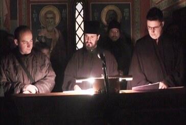 Dočekan praznik: Svenoćno bdenije i Sveta Arhijerejska Liturgija u Crkvi Svetog Đorđa u Kruševcu