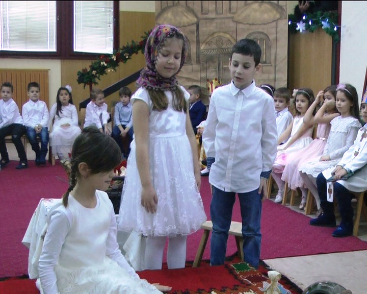 Mališani Vrtića Leptirić tradicionalno pripremili priredbu posvećenu Svetom Savi