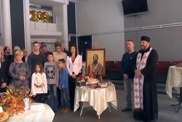 U Klubu Kulturnog centra Kruševac presečen slavski kolač