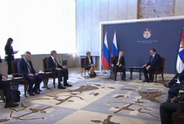Predsednik Ruske Federacije Vladimir Putin u zvaničnoj poseti Srbiji
