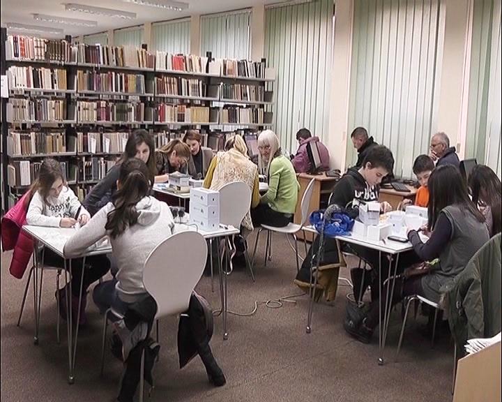 Radionice u Narodnoj biblioteci u Kruševcu u okviru zimskog raspusta
