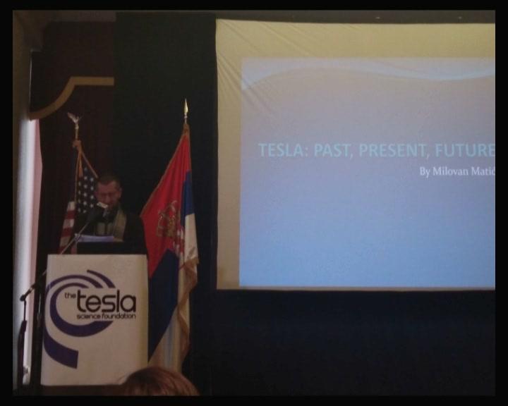 Brusjanin Milovan Matić na 6. Međunarodnoj konferenciji o Tesli u Njujorku