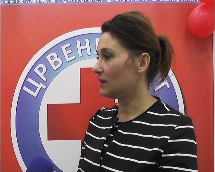 Crveni krst Kruševac organizovao akciju dobrovoljnog davanja krvi u svojim prostorijama