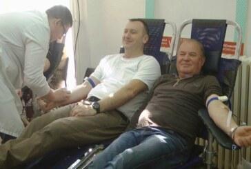 Akcija dobrovoljnog davanja krvi u prostorijama kruševačkom Crvenog krsta