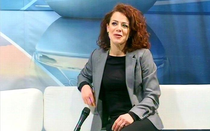 Glumica Marija Gašić u Jutarnjem programu Televizije Kruševac