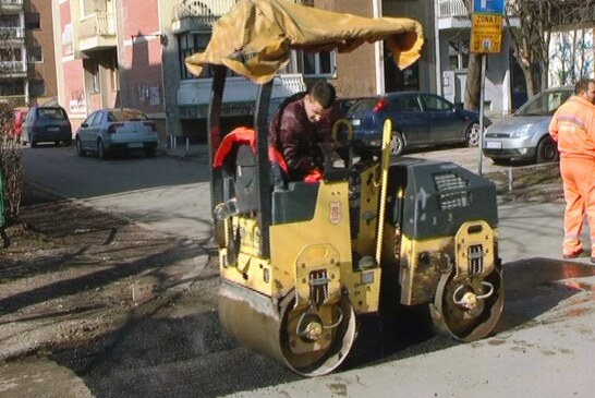 Radnici Kruševacputa počeli sa sanacijom rupa na gradskim ulicama