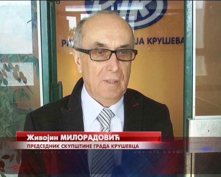 Predsednik Skupštine grada Kruševca, Živojin Miloradović o poseti predsednika Vučića Kruševcu