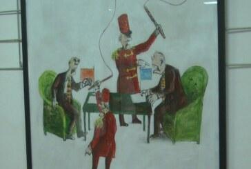 Izložba karikatura Muhameda Đerleka u Kulturnom centru