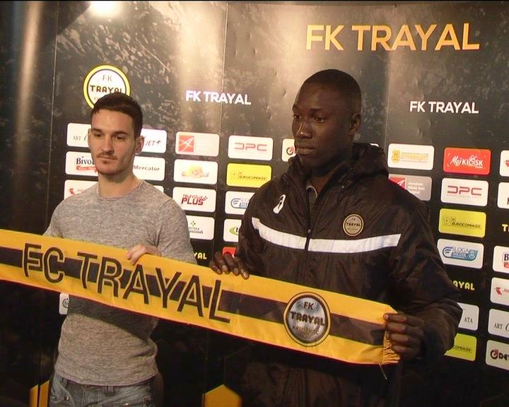 FK Trajal predstavio još dva nova igrača