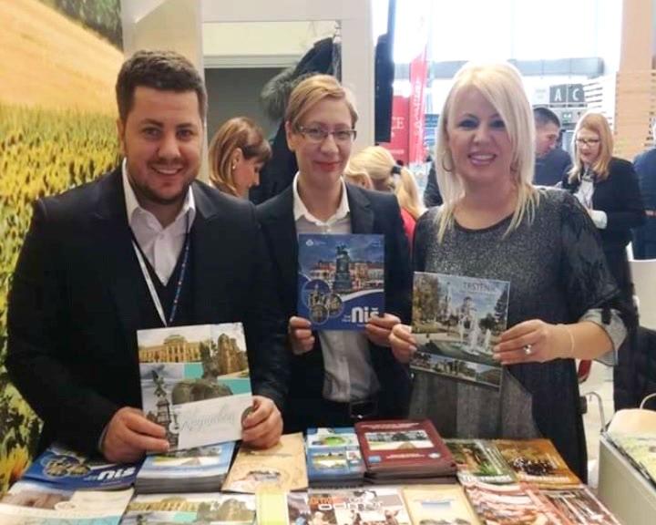 """Turistička organizacija Grada Kruševca na Sajmu turizma """"Alpe Adria"""" u Sloveniji"""