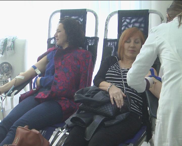 Tradicionalna Osmomartovska akcija dobrovoljnog davanja krvi u Kruševcu