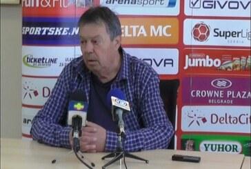 Milorad Kosanović pred utakmicu sa Čukaričkim: Pred nama je teško proleće