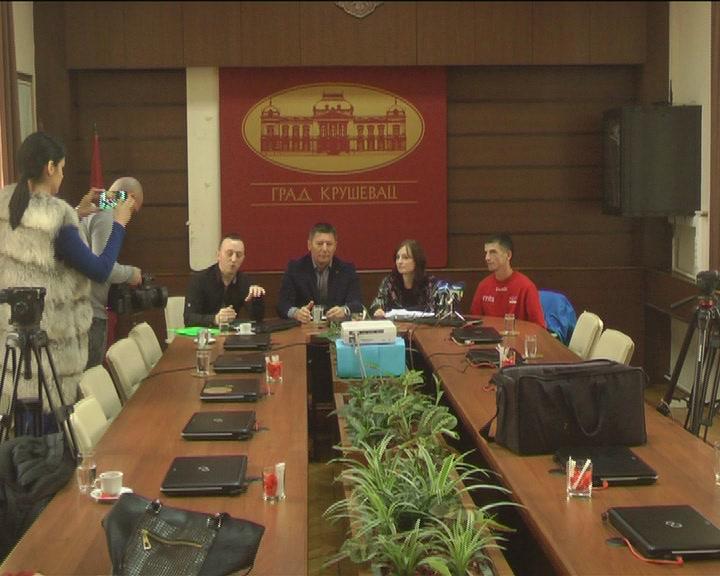 Konferencija za novinare uoči 4. Međunarodnog polumaratona u Kruševcu