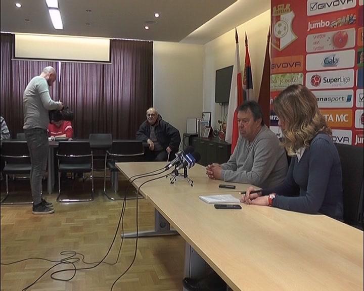 FK Napredak pred meč sa Radnikom u Surdulici