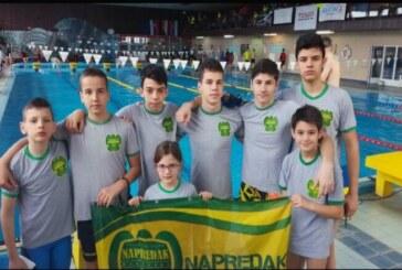"""Članovi plivačkog kluba """"Napredak"""" na Međunarodnom plivačkom mitingu u Slovačkoj osvojili 25 medalja"""