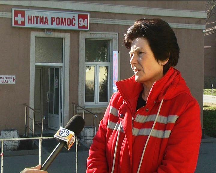 Služba Hitne pomoći tokom vikenda imala povećan obim posla