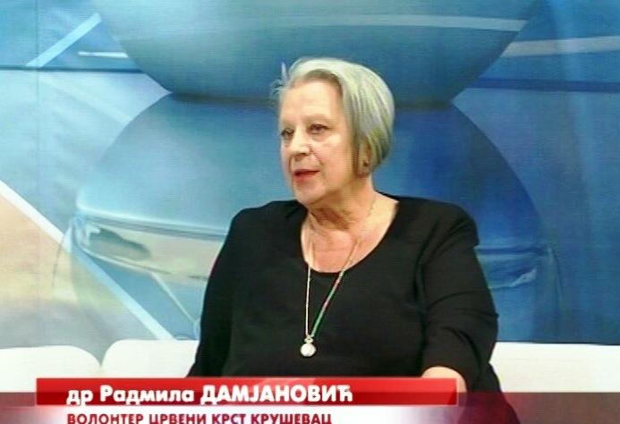 Jedna od delatnosti Crvenog krsta Kruševac i obuka prve pomoći za vozače, zaposlene i građanstvo