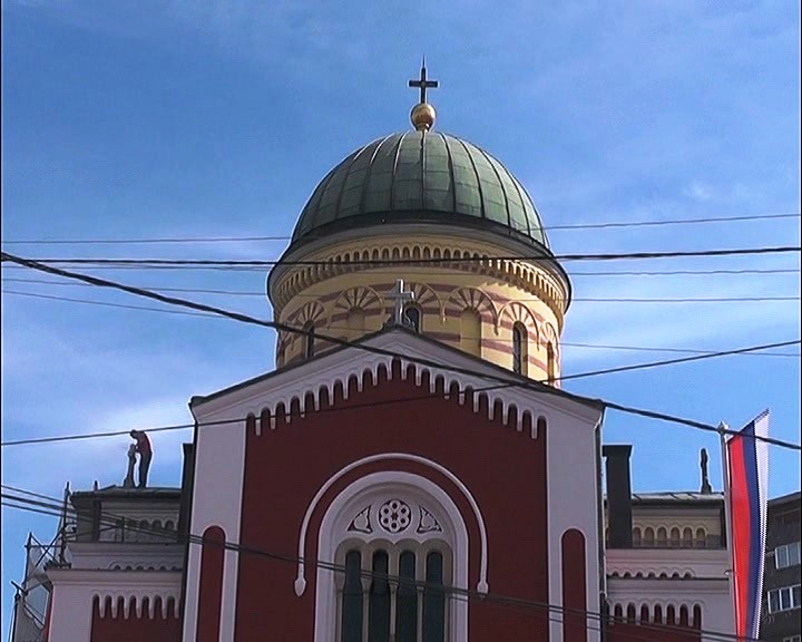 Radovi na uređenju Sabornog hrama Svetog Đorđa u Kruševcu