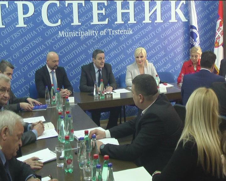Ministarka Zorana Mihajlović u Trsteniku