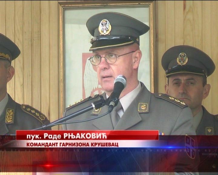 Povodom Dana Vojske Srbije u Kasarni Car Lazar u Kruševcu održana vojna svečanost