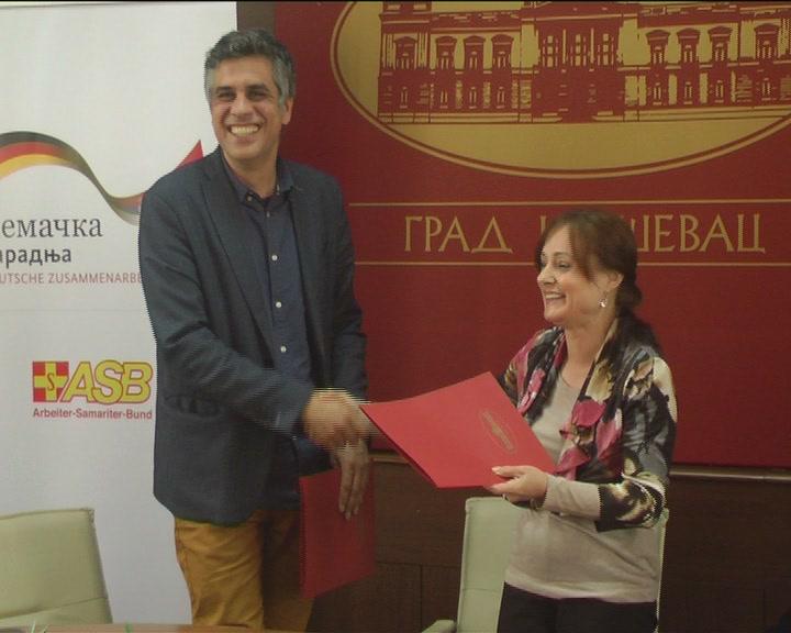 Sporazum o saradnji sa Međunarodnom humanitarnom organzacijom ASB za Srbiju
