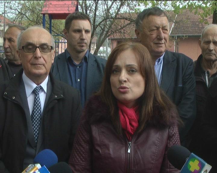 Gradonačelnica Kruševca sa saradnicima obišla Šanac, Kukljin i Konjuh