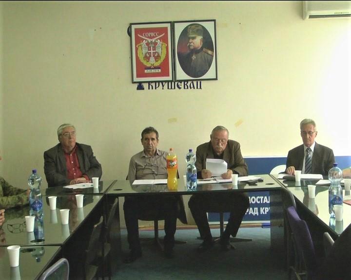Godišnje zasedanje Skupštine Gradske organizacije rezervnih vojnih starešina