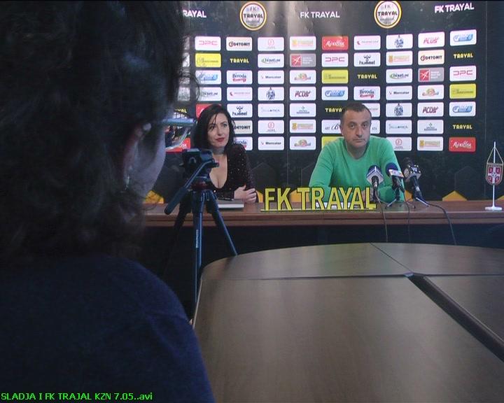 Konferencija za novinare u FK Trajal nakon završene sezone