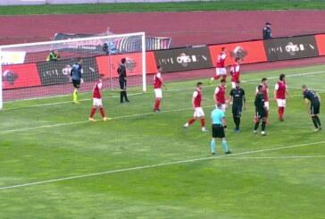 Napredak poražen od Partizana (2:1), sporan pobednički gol