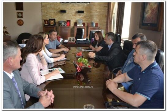 Pomoćnik ministra poljoprivrede Aleksandar Bogićević u Kruševcu