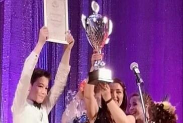 Dečiji hor Kulturnog centra osvojio prvo mesto na Festivalu ruske pesme u Beogradu