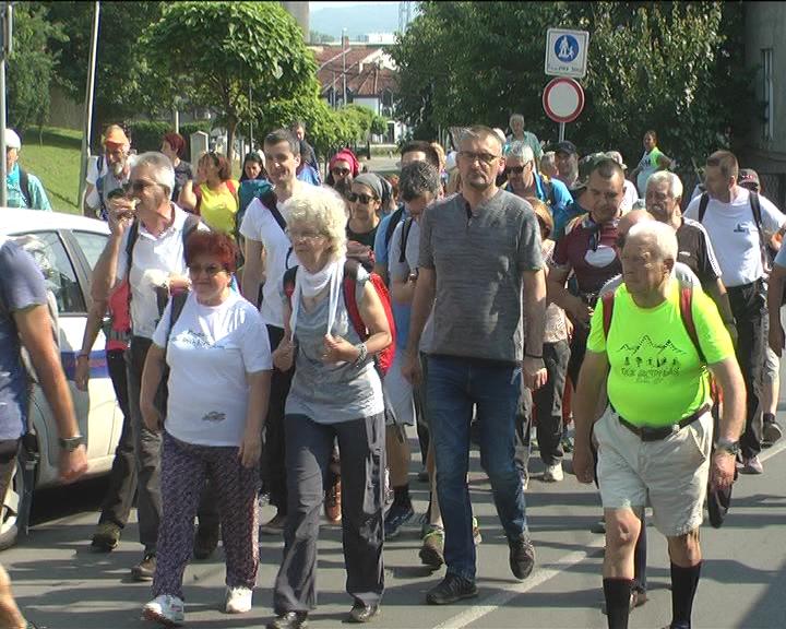 "Održan prvi Vidovdanski marš ""Tragom Lazarevih vitezova"""