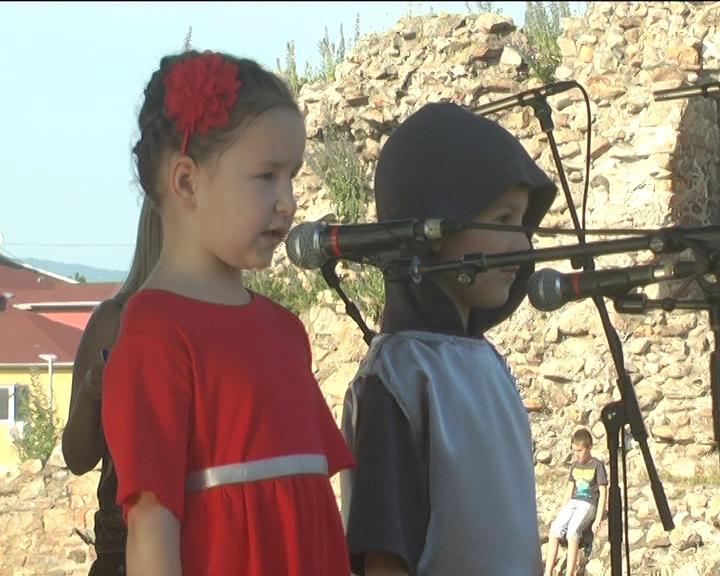 Dečji karneval za kraj Viteškog megdana u Lazarevom gradu