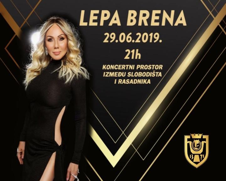 Lepa Brena večeras u Kruševcu