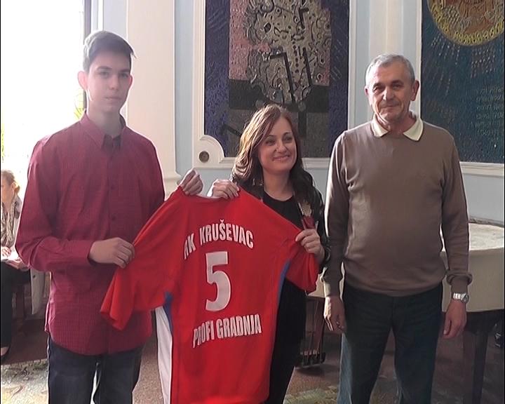 Gradonačelnica Jasmina Palurović priredila prijem za članove Rukometnog kluba Napredak povodom ulaska u Prvu ligu Srbije