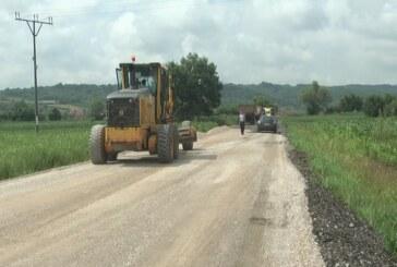 Radovi na rekonstrukciji deonice od Pepeljevca do Žabara