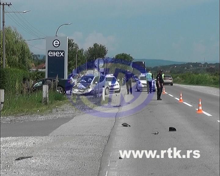 Saobraćajna nezgoda u Koševima – sudarila se tri automobila