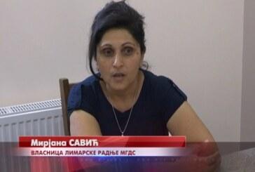 Mirjana Savić, vlasnica limarske radnje u selu Varvarin i majka troje dece