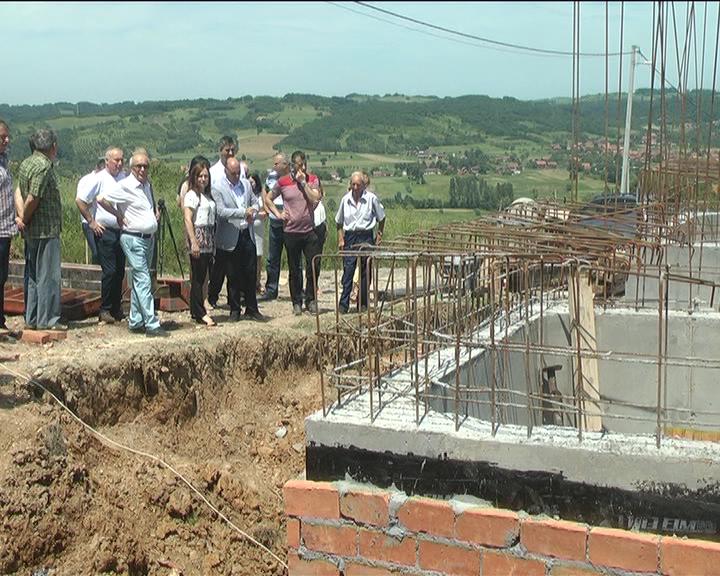U selu Grkljane radovi na izgradnji rezervoara